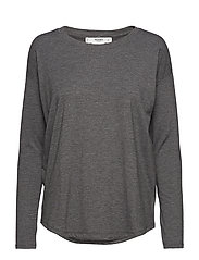 Long sleeve t-shirt - DARK GREY