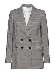 Mango - Houndstooth Suit Blazer