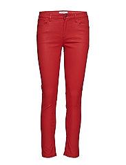 Waxed Skinny Belle Jeans