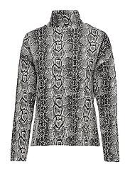 Snake print sweater - NATURAL WHITE