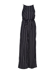 Knot jumpsuit - BLACK