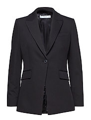 Structured suit blazer - BLACK