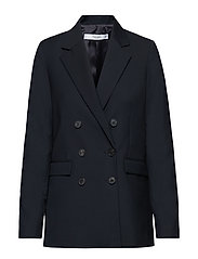 Double-breasted blazer - NAVY