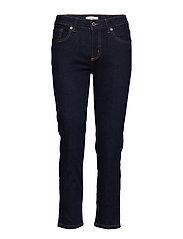 Cropped slim-fit Grace jeans - OPEN BLUE