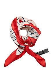 Printed scarf - LT-PASTEL PINK