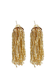 Pendant crystals earrings - GOLD