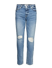 Ripped relax jeans - OPEN BLUE
