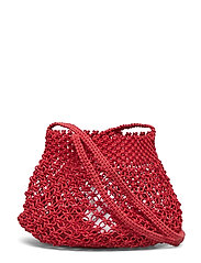 Braided net bag - RED