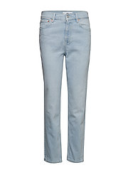Slim-fit New Mom jeans - OPEN BLUE