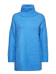 Oversize seam sweater - MEDIUM BLUE