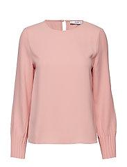 Pleated sleeves blouse - LT-PASTEL PINK
