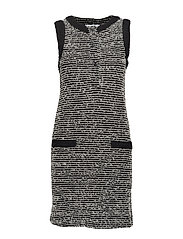 Pocket tweed dress