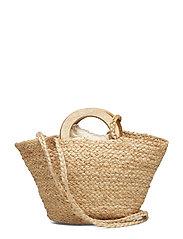 Braided mini bag