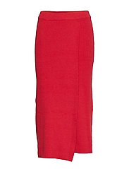 Towel fabric skirt - RED
