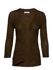 Fine-knit sweater - BEIGE - KHAKI