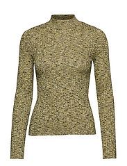 Flecked Rib Sweater