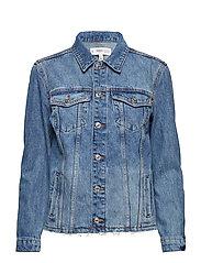 Medium wash denim jacket - OPEN BLUE