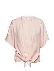 Knot detail blouse - PINK