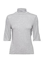 Halter neck t-shirt - MEDIUM GREY