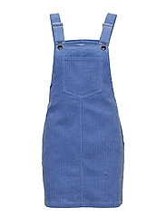 Corduroy pinafore dress - LT-PASTEL PURPLE