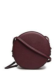 Round bag - DARK RED