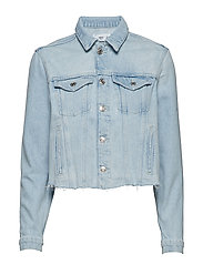 Light denim jacket - OPEN BLUE