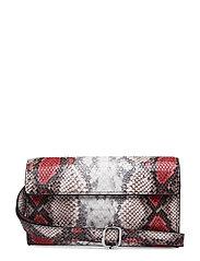 Anim print crossbody belt bag - RED