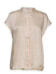 Striped Satin Blouse