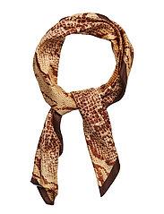 Snake print scarf - GOLD