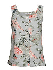 Printed buttoned top - PINK