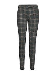 Printed leggings - GREEN