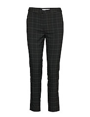 Straight long pants - BLACK