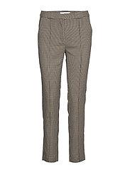 Straight long pants - LIGHT BEIGE