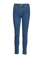 Skinny Noa Jeans Skinny Jeans Blå MANGO