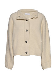 Textured button cardigan - LT PASTEL GREY