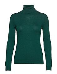 Turtle neck sweater - DARK GREEN