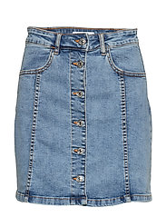Denim miniskirt - OPEN BLUE
