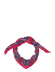 Snake Print Scarf Scarf Rosa MANGO