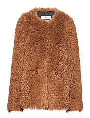 Sheepskin jacket - BROWN
