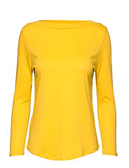 Organic cotton t-shirt - MEDIUM YELLOW