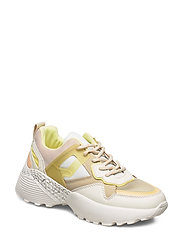 Maxi sole sneakers - YELLOW