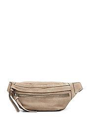 Leather Bum Bag Bum Bag Väska Beige MANGO