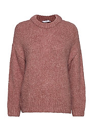Chunky-knit sweater - LT-PASTEL PINK