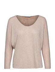 Essential flecked t-shirt - LT PASTEL GREY