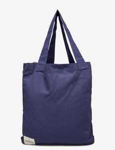 AGAIN - tote bags - blue
