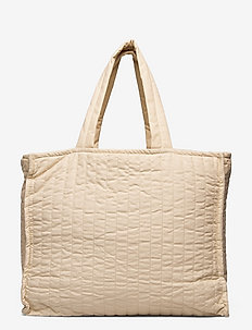 QUILT - tote bags - beige