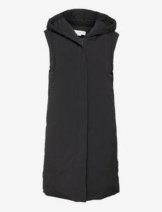 VALL - puffer vests - black