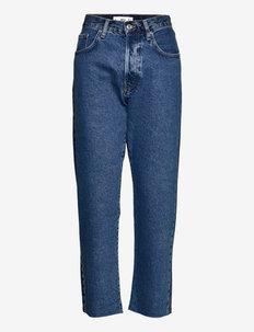 CINDY - bukser med lige ben - dark denim