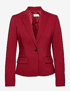 COFI7-A - tailored blazers - maroon