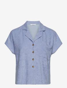 ELY - kortærmede skjorter - sky blue